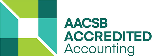 AACSB Accredited Accounting Logo