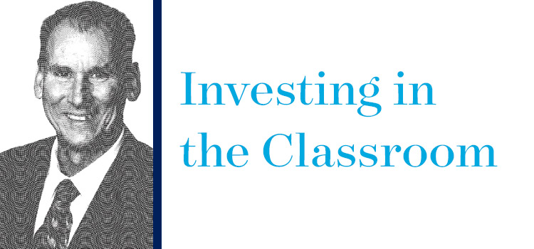 Investing in the Classroom: Ph.D. Student Larry Goehrig