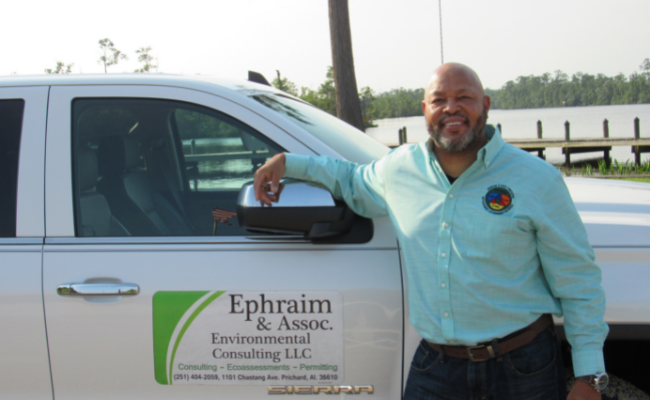 """Troy Ephriam knows his business, but he didn't know business development. """"I knew I had the desire to build a company,"""" he said, """"but hadn't had the opportunity."""""""