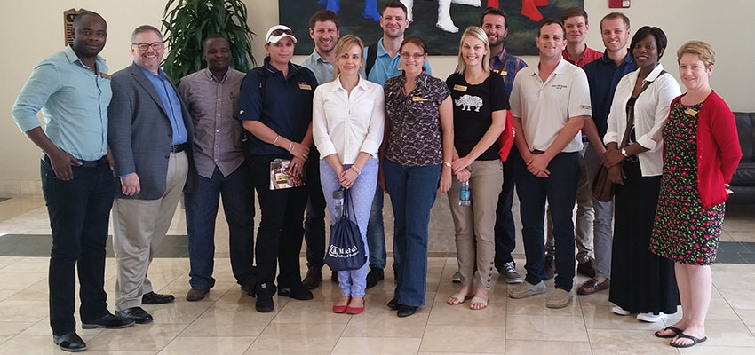 University of Stellenbosch Business School Students Visit