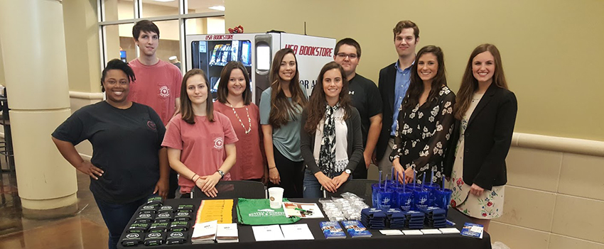The Beta Alpha Psi students held an accounting career recruiting event at the USA student center.