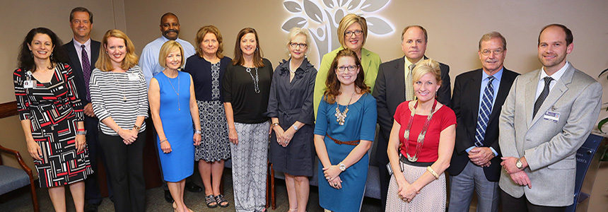 Faculty and spouses tour Children's and Women's Hospital