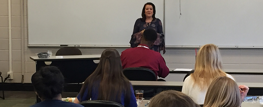Jennifer Busby, HR Manager, for the SSI Group, Inc. conducted a Lunch and Learn