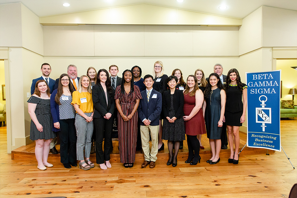 Beta Gamma Sigma Induction Ceremony 2018