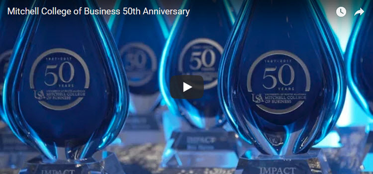 Mitchell College of Business 50th Anniversary Gala