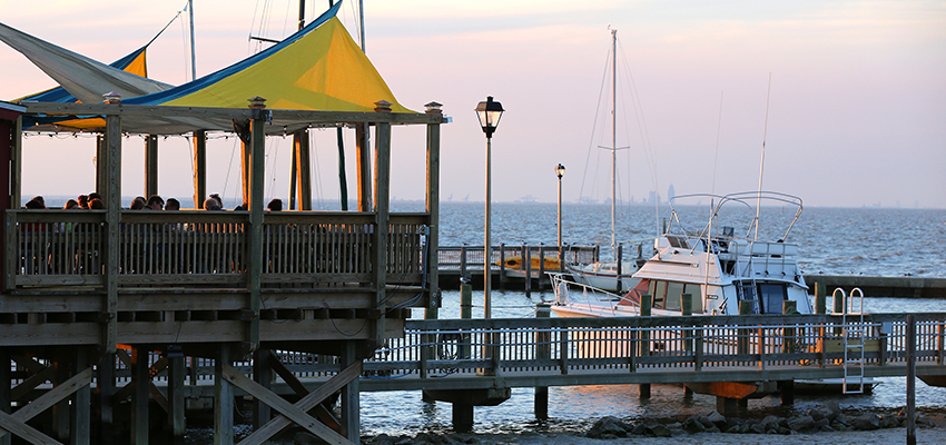Image of Pier over Mobile Bay