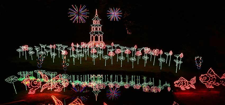 Bellingrath in Lights at Christmas