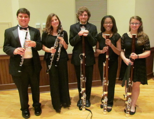 USA Wind Ensemble Double Reeds, Fall 2015