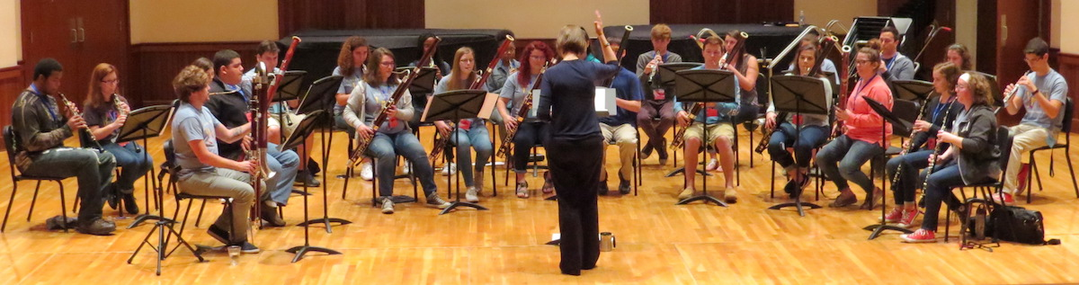 Double Reed Day 2017 Large Ensemble