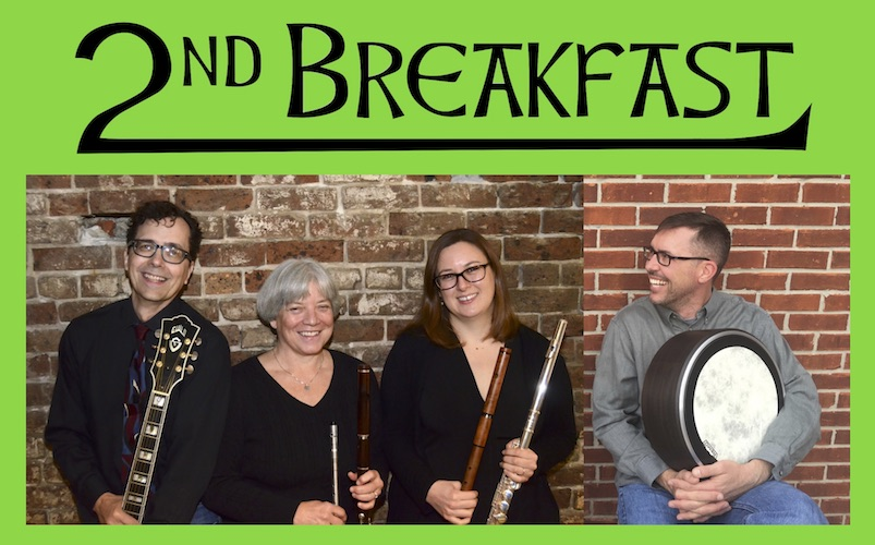 Pictured are members of 2nd Breakfast.