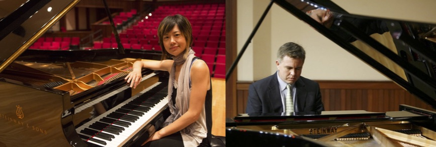 read story, Robert Holm and Jasmin Arakawa Two-Piano Faculty Recital January 25