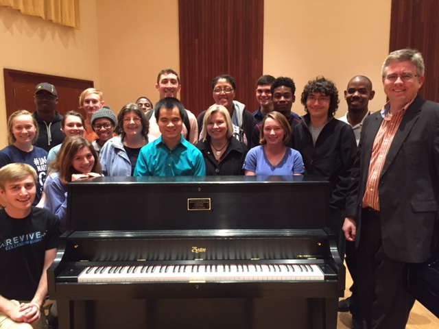 read about Piano Donated at USA Steinway Initiative Request Night