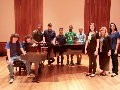 USA Piano Ensemble Fall 2014