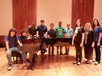USA Piano Ensemble Fall 2014