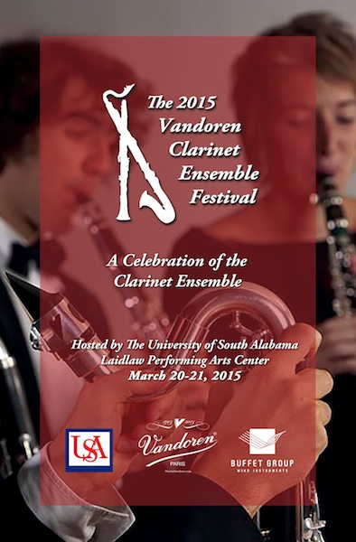 read story, Four Vandoren Clarinet Ensemble Festival Concerts March 21