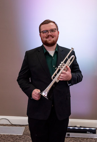 Pictured is trumpeter Kyle Brookins. data-lightbox='featured'
