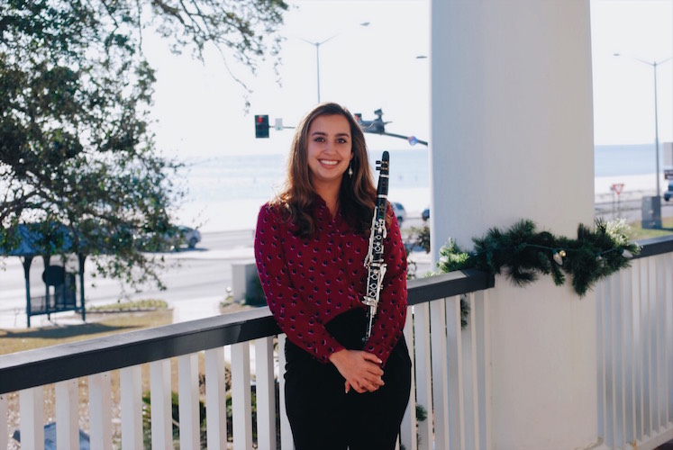 Clarinetist Alexys Bush