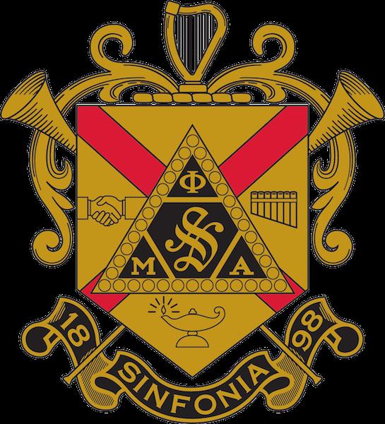 Phi Mu Alpha Sinfonia shield