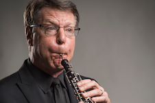 Pictured is oboist Peter Cooper.