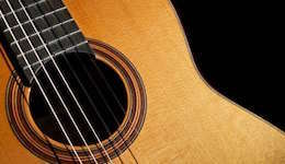 Guitar image displayed