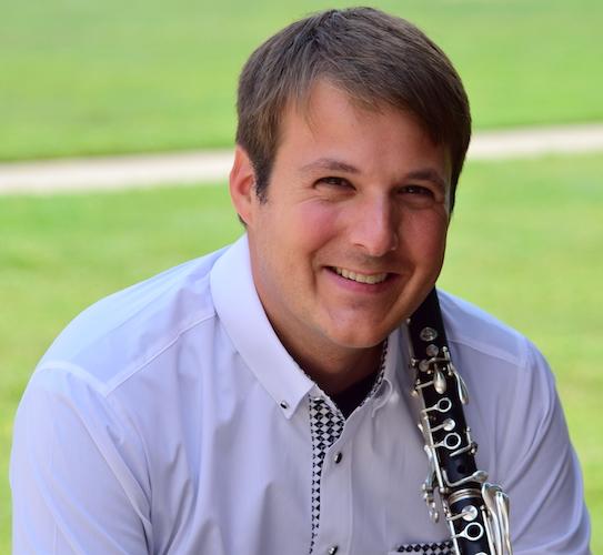 Pictured is clarinetist Kip Franklin.