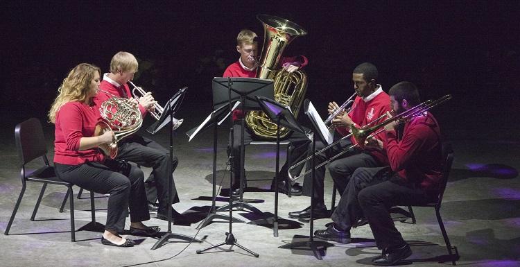 music ensemble photo linking to Story for season of celebration