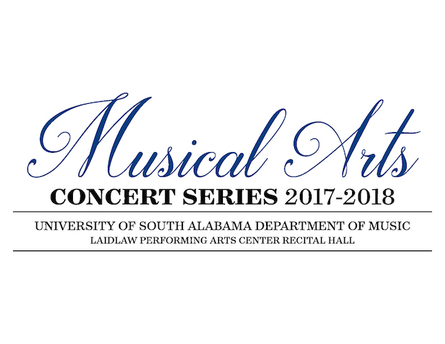 poster for USA Musical Arts Concert Series 2017-2018