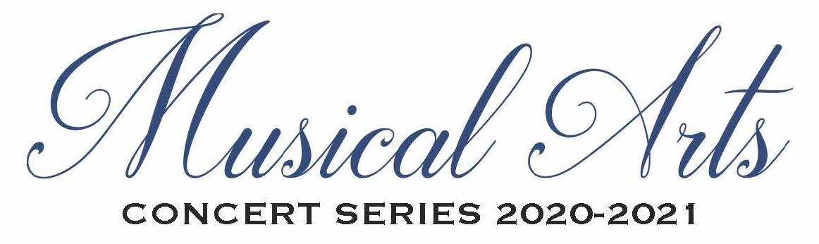 Pictured is the USA Musical Arts Concert Series logo for 2019-2020