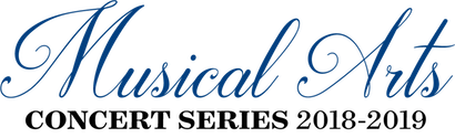 Pictured is the Musical Arts Concert Series logo for 2018-2019.