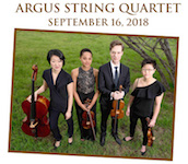 Pictured is the Argus String Quartet