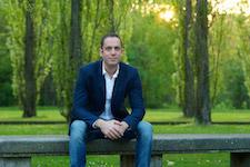 Pictured is pianist Amir Katz.