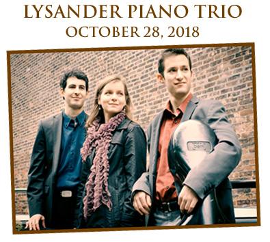 Lysander Trio Oct. 28