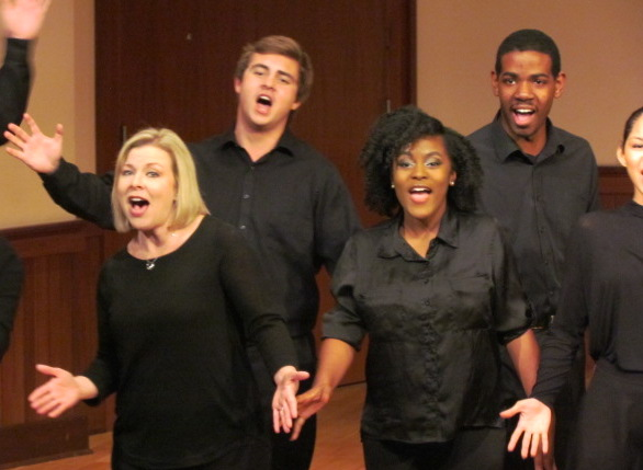 USA Opera Theatre students in performance