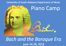 Pictured is the poster for USA Piano Camp 2019.