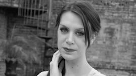 Pictured is graduate soprano Kate Sherrill.