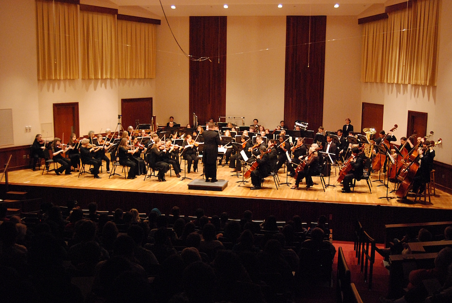 USA Symphony Orchestra in performance