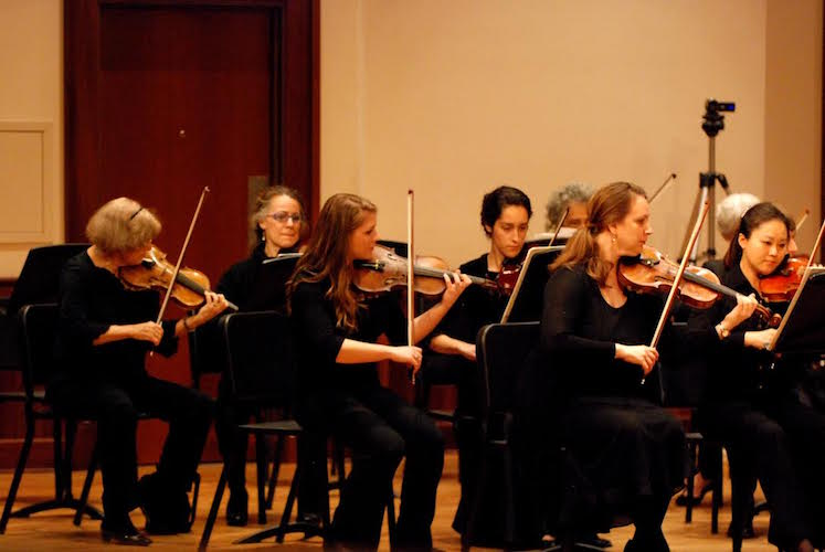 USA String Orchestra Fall Concert November 5 at Laidlaw