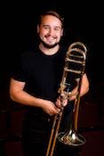 Trombonist Arie VandeWaa