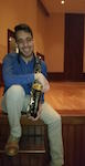 Pictured is saxophonist Carlos Vizoso