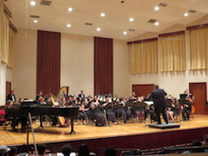 Pictured is the USA Wind Ensemble