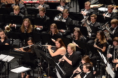 USA Wind Ensemble in concert.