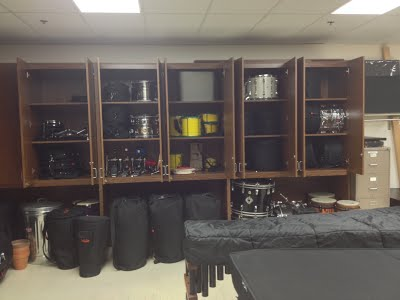Main Percussion Storage Room 2