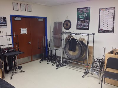 Main Percussion Storage Room 3