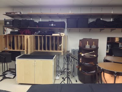 Main Percussion Storage Room 4