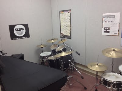 Drum Set/Vibraphone Percussion Practice Room