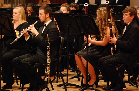 USA Wind Ensemble Double Reeds, Spring 2014