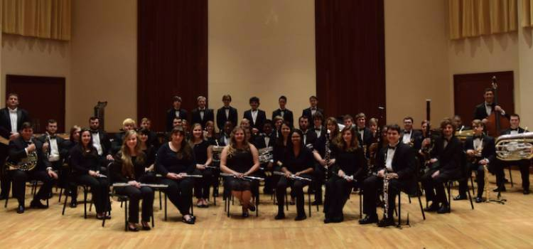 Fall 2017 Audition Results for USA Wind Ensemble and USA Symphony Band