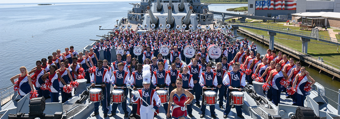 band at battleship