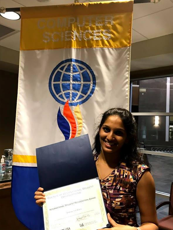 International Student Recognition Award