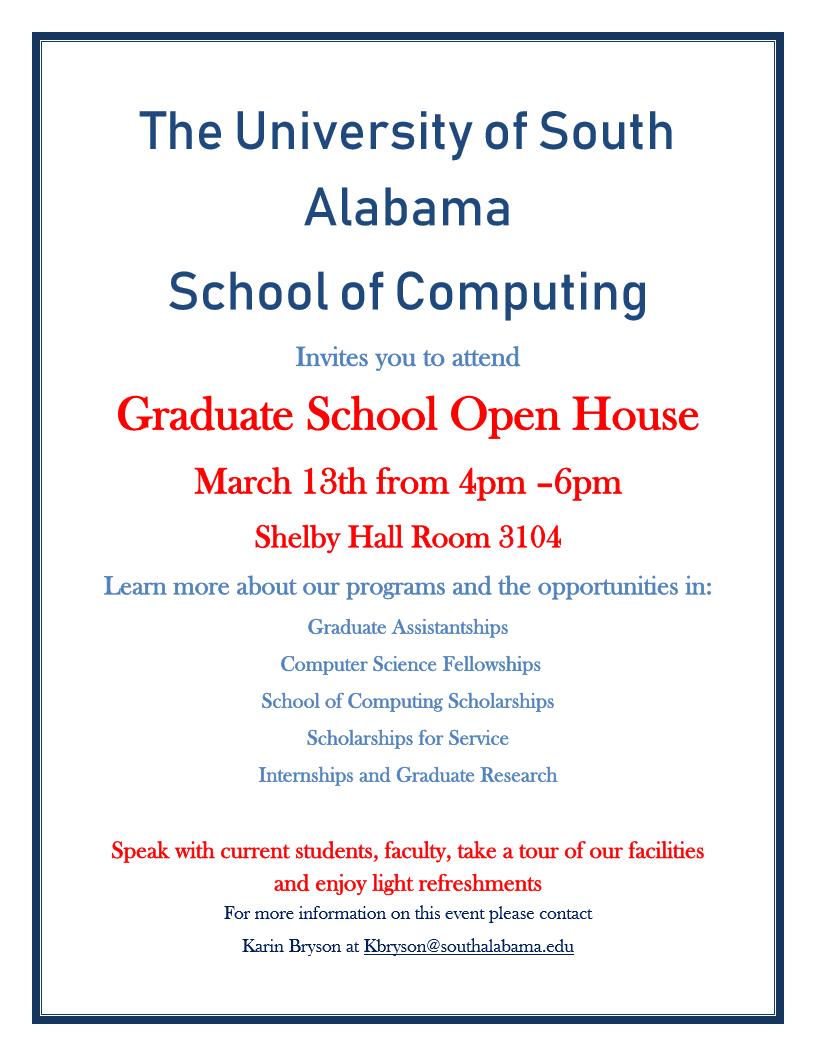Graduate School Open House